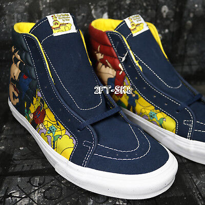 9fbc64c6fa THE BEATLES YELLOW SUBMARINE FACES BY VANS SK8 HI S91299.127 John Lennon