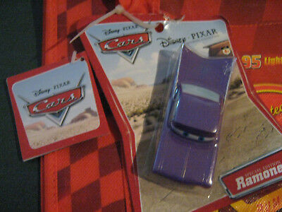 Disney Pixar CARS Limited Edition Shopping Bag, With Ramone Car, New & Sealed!