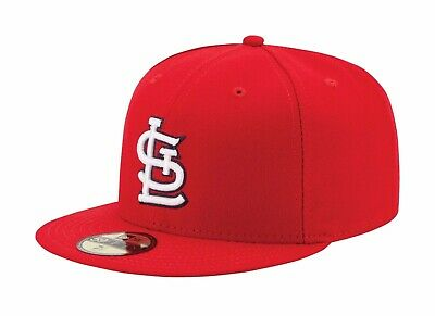 New Era 59Fifty MLB Cap St. Louis Cardinals AC On Field Fitted Game Hat