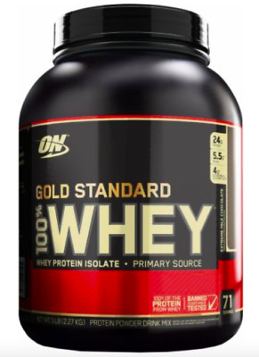 Optimum Nutrition Gold Standard 100% Whey Protein Isolate 24g 5LB