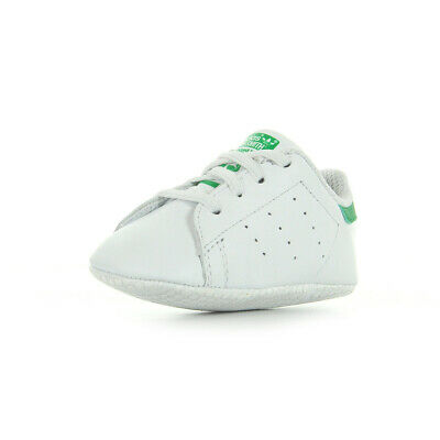wholesale dealer 0791e 9374a Chaussures Baskets adidas bébé Stan Smith Giftset taille Blanc Blanche Cuir