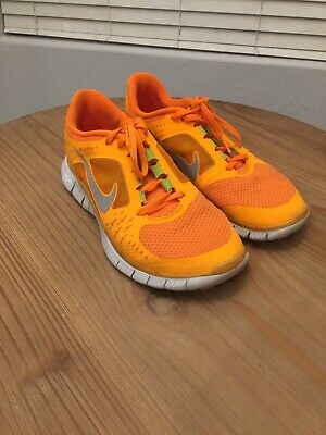 c9c6550be583f VGC! Nike+ Free Run 3 5.0 Womens Size 8 Running Shoes Orange Silver 510643
