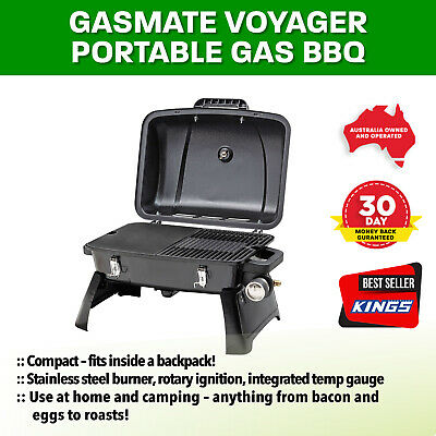 Camping Outdoor Caravan Picnic BBQ Grill Stove Meat Cooking Gasmate Voyager