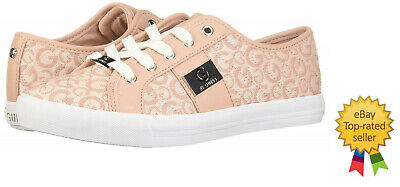 8ba6d50545d G by GUESS womens Backer3 Signature G Quilted light pink sneakers 9 9.5 10  NEW