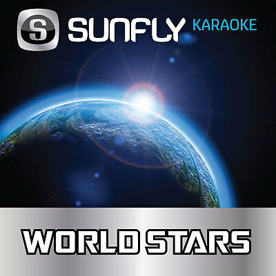 Gloria Estefan Sunfly Cd+G Karaoke - 15 Tracks - World Stars