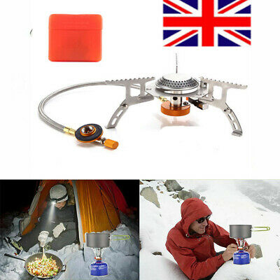 3500W Portable Gas-Burner Fishing Outdoor Cooking Camping Picnic Cook Stove