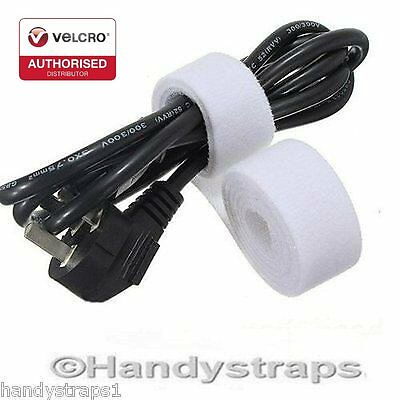 VELCRO® Brand ONE-WRAP® Cable Tie White or Black double sided Reusable Strapping
