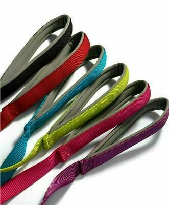 Padded  Dog Leads Ancol Nylon  with PADDED HANDLE Handy Straps