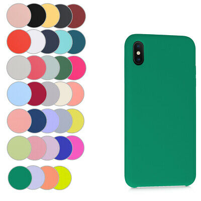 Coque Souple En Silicone Pour Apple Iphone Xs Max