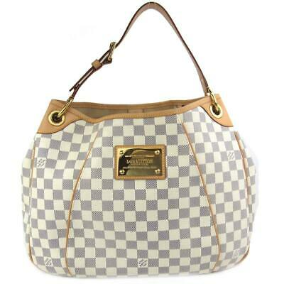 LOUIS VUITTON Galliera PM Damier Azure N55215 Shoulder Bag Handbag ... 875558b92d7fa
