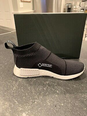 36d6f528109ca Adidas NMD CS1 GTX Boost City Sock PK Primeknit Gore-Tex Black Size 10  BY9405