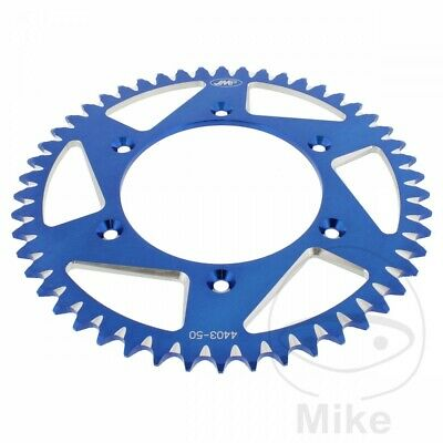 JMP Blue Aluminium Rear Sprocket (50 Teeth) KTM Adventure 640 R 1999