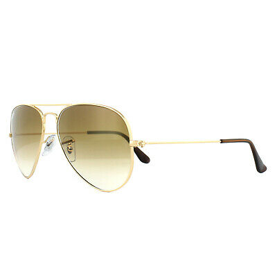 f624566175 Ray-Ban Sunglasses Aviator 3025 001 51 Gold Brown Gradient Small 55mm