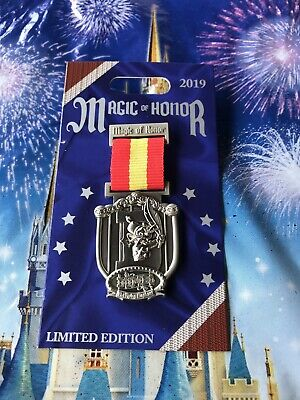 Disney Parks Magic Of Honor Dumbo LE Pin In Hand