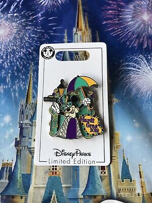 Disney Parks Minnie Mouse Mardi Gras 2019 LE Pin In Hand