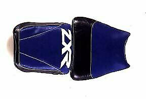 Bagster Seat Cover Blue/Black/White Letters Kawasaki ZXR750 1992