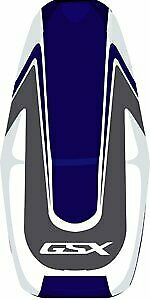 Bagster Seat Cover Dark Blue/Steel Grey/White/White Suzuki GSX1400 2002-2007
