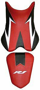 Bagster Seat Cover Red/ Black/ White/ White Letters Yamaha YZF-R1 2007-2008