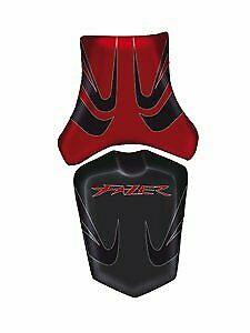 Bagster Seat Cover Dark Red/Black Dark Red Letters Yamaha FZ1 Fazer 2006-2011