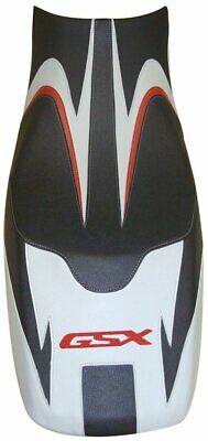 Bagster Seat Cover Black/Mat Black/Grey/Red Letters Suzuki GSX650F 2008-2010