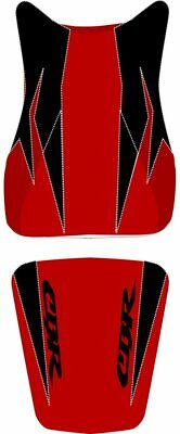 Bagster Seat Cover Red/ Black/ Anthracite Letters Honda CBR600RR 2007-2011