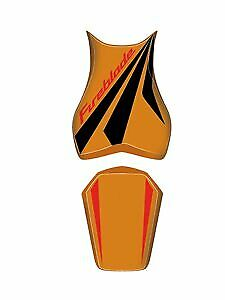 Bagster Seat Cover Repsol Orange/Black Red Honda CBR1000RR 2008-2011 Fireblade
