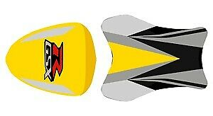 Bagster Seat Cover Surf Yellow/Black/Carbon/Red Suzuki GSX-R1000 2007-2008