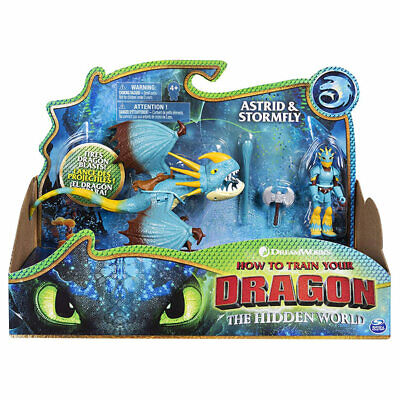 How to Train your Dragon Astrid & Stormfly, Armoured Viking Figure 6052269
