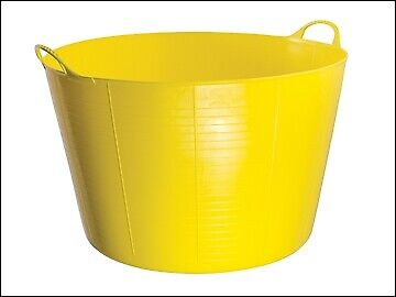 Red Gorilla Gorilla Tub 75 Litre Extra Large - Yellow GORTUB75