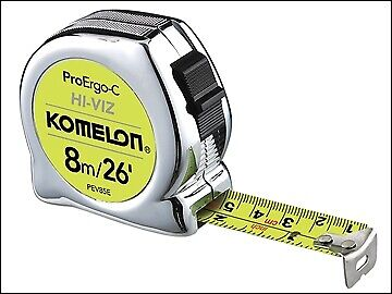 Komelon The ProErgo-C Tape 8m/26ft (Width 25mm) KOMATP8025