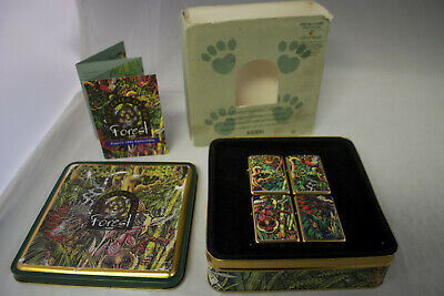 Zippo 1995 Mysteries of The Forest Set - *SEALED LIGHTERS* - *MEGA RARE
