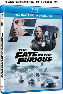 Fate Of The Furious - 2 DISC SET (Blu-ray New) 025192369537