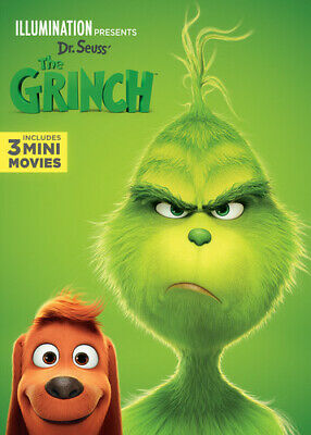 Illumination Presents: Dr Seuss' The Grinch (DVD New)