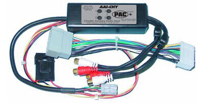 Pac AAI-CHY Chrysler 2006-2008 Pt Cruiser Dual Aux Audio Input For Factory Radio