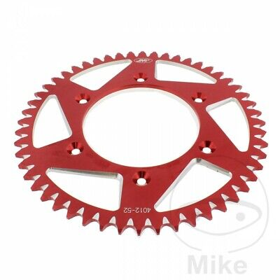 Honda CR 250 R 2004 JMP Red Aluminium Rear Sprocket (52 Teeth)