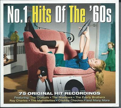 No 1 Hits Of The '60s - 75 Original Hit Recordings 3CD NEW/SEALED