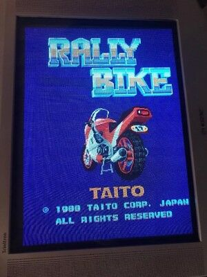 Rally Bike. Jamma Pcb Original Taito  ,Working 100%