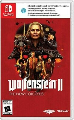 Wolfenstein Ii: The New Colossus (Video Game New) 045496591823