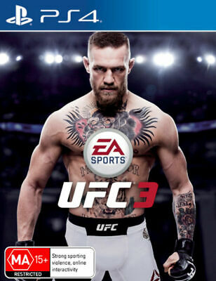 UFC 3 PS4 Playstation 4 Brand New Sealed