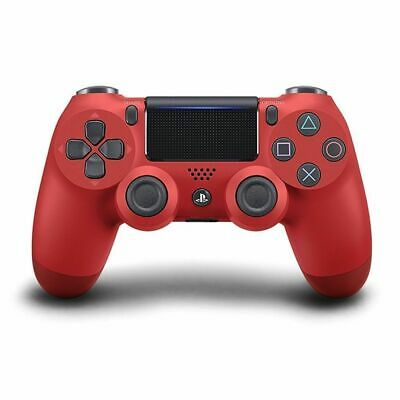 Genuine Sony Playstation 4 PS4 Controller v2 DualShock RED Brand New Sealed