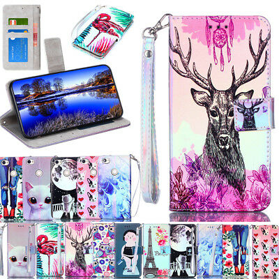 Flip Phone Case PU Leather Card Slots Wallet Case Cover for Xiaomi Redmi Note 5A