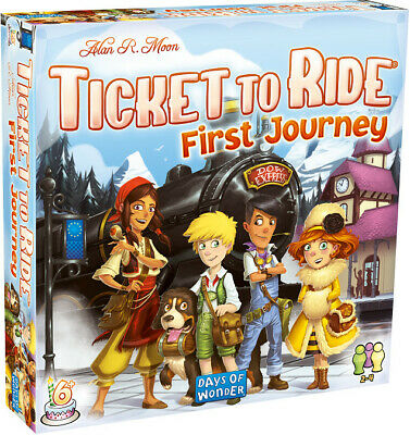 Ticket to Ride Europe First Journey