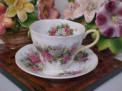 Royal Albert Hawthorn Blossom Time Bone China Tea Cup & Saucer Made in England