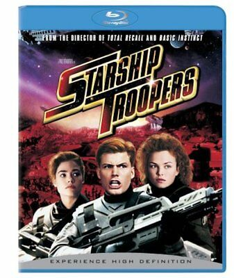 Starship Troopers (Blu-ray Disc, WS) NEW