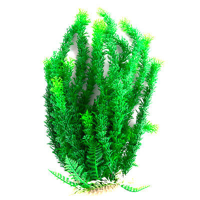 Artificial Grass Aquarium Ornament Water Plant Plastic Large f Fish Tank