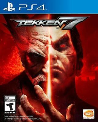Tekken 7 PS4 Playstation 4 Brand New Sealed