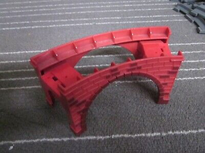 """Wooden Train Railway Curved Track 2 Female Ends Compatible w Thomas EUC 6.5/"""""""