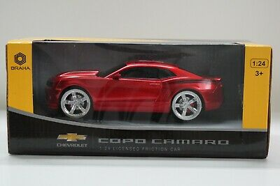 BRAHA FRICTION Chevy COPO Camaro 1:24 SCALE Red or Black New White