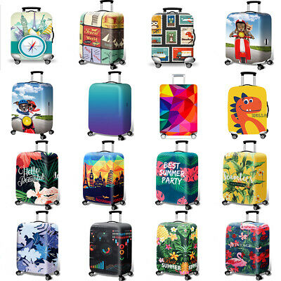 """Luggage Suitcase Elastic Anti-scratch Protective Travel Protector Cover 18""""- 32"""""""