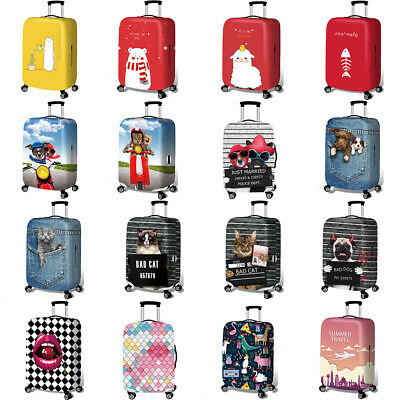 """18""""-32"""" Elastic Anti Scratch Travel Luggage Cover Suitcase Protective Case Cover"""